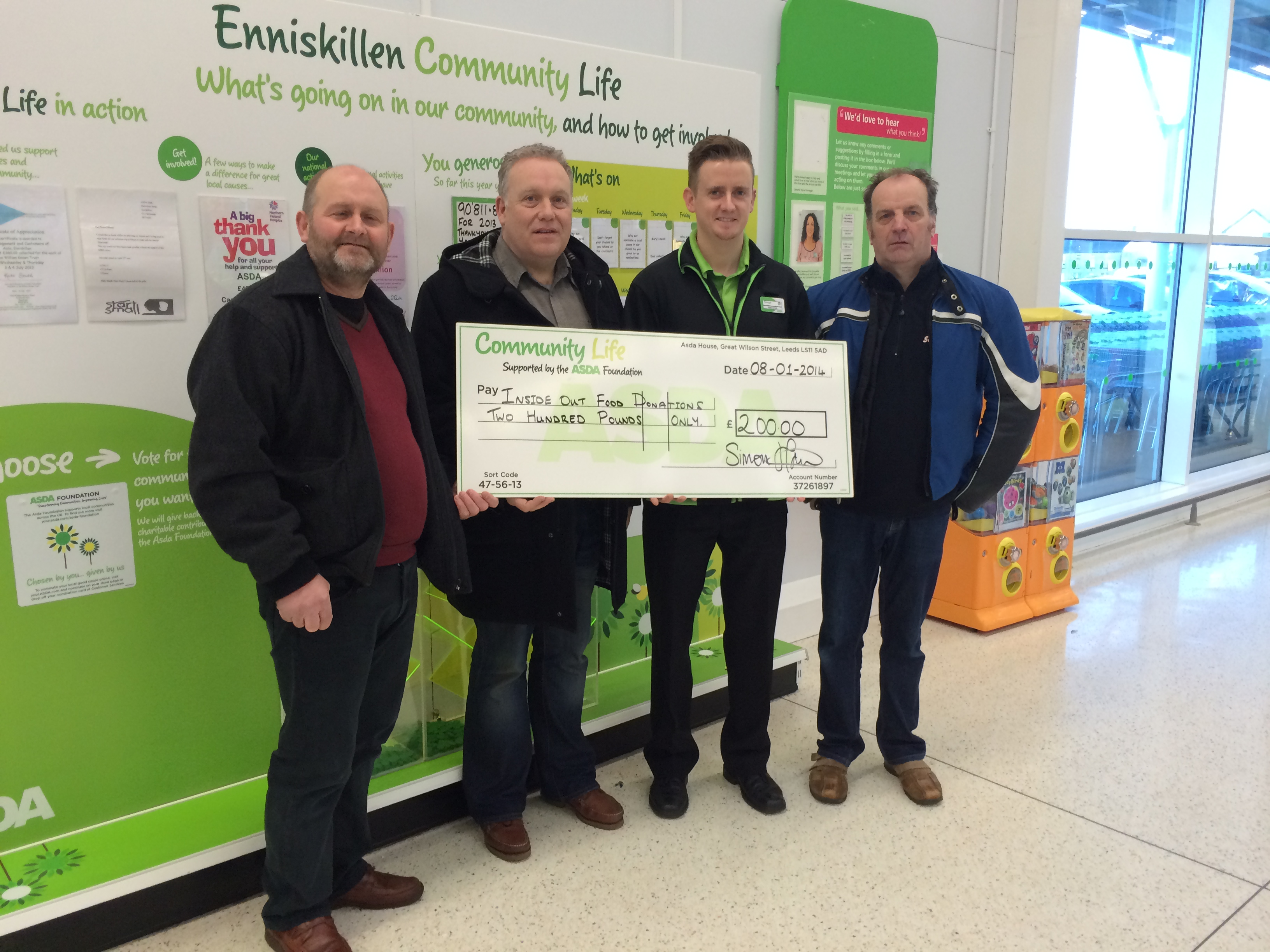 Inside Out Wins Asda Green Token Scheme